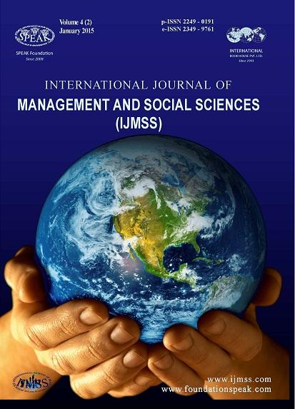 IJMSS - JANUARY 4(2) 2015 Issue